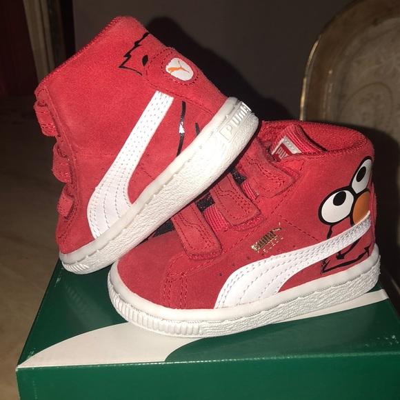 8beaf310d9f Puma ELMO sneakers NWT